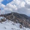 奥秩父・雁坂峠〜雁坂嶺で新雪スノーハイクと無人小屋と星空と