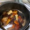 イワシをまた電気圧力鍋で煮てみました。