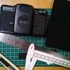 LOMO LC-Aのモルトプレーン交換(2)新しいモルトプレーンの切断と貼り付け
