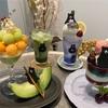 ツナグ茶房(俊徳道)🍈 帰ってきたさぼうくんのメロンパフェ/さぼうくんのチェリーパフェ/他