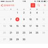 【iPhone】カレンダーアプリ (前編)
