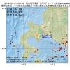 2016年10月11日 19時23分 後志地方東部でM3.6の地震