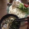 豆乳麺つゆ