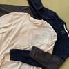 20200929_時々ものすごく刺さる素材のTシャツが出る無印良品で秋冬用にロンTを追加。