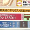 年金が危ない!老後の資金は2000万円必要【中高年50歳介護への転職】