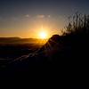 阿蘇大観峰、冬景色の日の出を撮りに行く