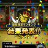 level.206【ウェイト120】第95回闘技場ランキングバトル初日