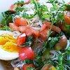 『アジア風冷素麺』のレシピ