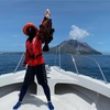 こんにちは硫黄島!釣りガール行きまーす!