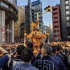 シナトラで鳥そば食べてから、神田祭のお神輿を見学に行ってみた。(中央区日本橋室町)