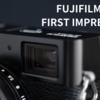 17万円超え!?高級コンデジ「FUJIFILM X100V」を購入しました!