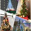 クリスマスツリーをたくさん見つけると幸せになる⁉️