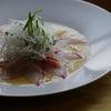 安い・新鮮な材料で一品  【平鯛の京風カルパッチョ -Goldlined seabream carpccio with flavor Kyoto-】