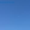 青い空白い月〜Midday-moon