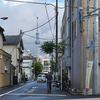6月24日(月)気づかなかった地震と、雨上がりの街。