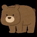 あそこで熊が踊ってる。
