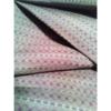 着物生地(379)絹更紗 横段に菱模様男物着物生地