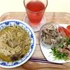 6月28日の食事記録~辛さMAXのグリーンカレーと美人の食べモノ?
