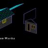 小屋の模型を作る