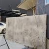 犬山市 ヘ-ベルハウスの家 メテオブル- 完工 モルタル壁と木目タイル