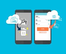 スマホの写真や動画を簡単にバックアップできて、空き容量も増える!? 機種変更などのデータ移行で活用したいサービス