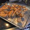 幸運な病のレシピ( 905 )朝:鮭フライ、鳥唐揚げ、揚げ焼売、レストランポイポイ