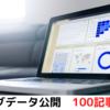 【ブログデータ公開】100記事更新時のアクセス数と収益