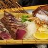 土佐清水ワールドで藁焼きづくしのディナー @新橋