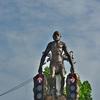 クラビタウンの原始人交差点~原始人(猿人)だけでなくサーベルタイガーも居た!!