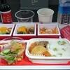 JL421/422 成田-モスクワ線の機内食