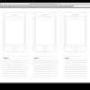 紙と鉛筆でアプリ企画をはじめよう。ペーパープロタイピングツール×19選