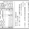 株式会社マチマチ 第3期決算公告 / 減少公告