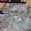 色鉛筆でアンティーク風を目指して&猫ブログ