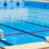 世界が夏休みに入る時には... プールでCNAC海遊び安全講座