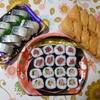 今日の夜ご飯のお寿司!