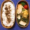 20170713鮭のチーズパン粉焼き弁当