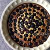 ボウル1つ、スプーン1つで作る「ブルーベリーとヨーグルトのケーキ」作り方・レシピ。