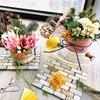 【Handcraft・生花アレンジメントレッスン】New Year・新年 和風にアレンジメント可能な花器カバー