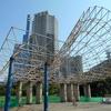 三宮の東遊園地の芝生広場に訪問!まったり空間でした!【神戸市中央区】