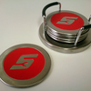 Snap-on Metal Coasters