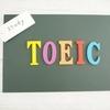 TOEICで使える単語・例文集。