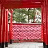縁結び!犬山市の三光稲荷神社はピンクのハートがかわゆすな神社