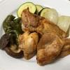 6月22日夜ご飯(鶏といろいろ野菜のロースト)