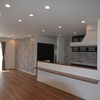 【施工事例】キッチンを中心にした回遊動線が見どころのお家。モノトーンをベースにした大人空間。