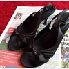 【靴の断捨離】フォーマルなサンダル1足を手放します&靴箱がない我が家の靴の収納の話