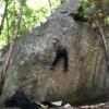 小川山遠征-林の中での巻