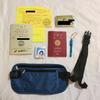 【持ち物写真】32ℓのバックパックに詰めた世界一周女子バックパッカーの荷物一覧