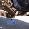 カワサキ KSRのステップ修理(溶接)