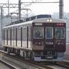 阪急7000系2両編成の試運転を撮る。