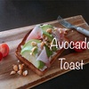 低糖質なアボカドトーストは糖質8g!!